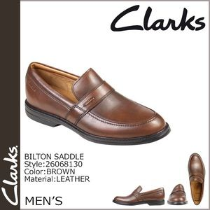 {Clarks} Men's Leather Loafers   11.5